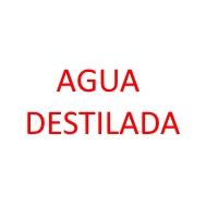 Foto de la categoría AGUA DESTILADA