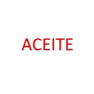 Foto de la categoría ACEITE