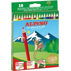 Foto de LAPICES DE COLORES ALPINO 18 COLORES