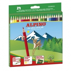 Foto de LAPICES DE COLORES ALPINO 24 COLORES