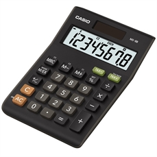 Foto de CALCULADORA CASIO 8 DIGITOS MS-8B