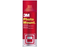 Foto de ADHESIVO 3M PERMANENTE SPRAY PHOTO MOUNT 400 ML.