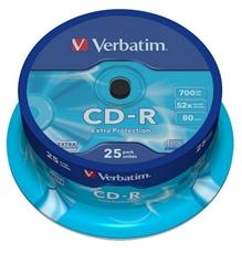 Foto de TARRINA 25 CD'S -R VERBATIM 700MB