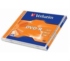 Foto de DVD-R VERBATIM 4,7GB 16X 120 MINUTOS