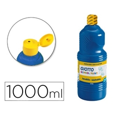 Foto de TEMPERA ESCOLAR GIOTTO 1000ML AZUL ULTRAMAR