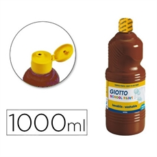 Foto de TEMPERA ESCOLAR GIOTTO 1000ML MARRON