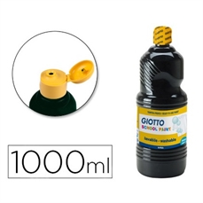 Foto de TEMPERA ESCOLAR GIOTTO 1000ML NEGRO