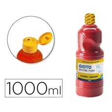 Foto de TEMPERA ESCOLAR GIOTTO 1000ML ROJO