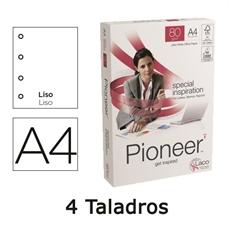Foto de PAPEL A4 PIONEER 4 TALADROS 80GR. PAQ. 500 HOJAS