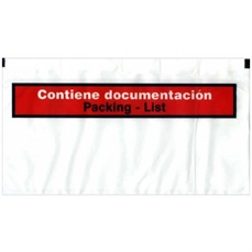 Foto de SOBRES PACKING LIST 340X240 (PAQ. 250) CONT. DOCUM