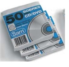 Foto de PAQUETE 50 SOBRES CD'S BLANCOS SAM