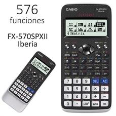 Foto de CALCULADORA CASIO FX-570SPX II CIENTIFICA 576 FUN.
