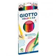 Foto de LAPICES DE COLORES GIOTTO COLORS 3.0 - 12 COLORES